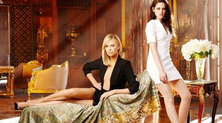 Kristen Stewart y Charlize Theron