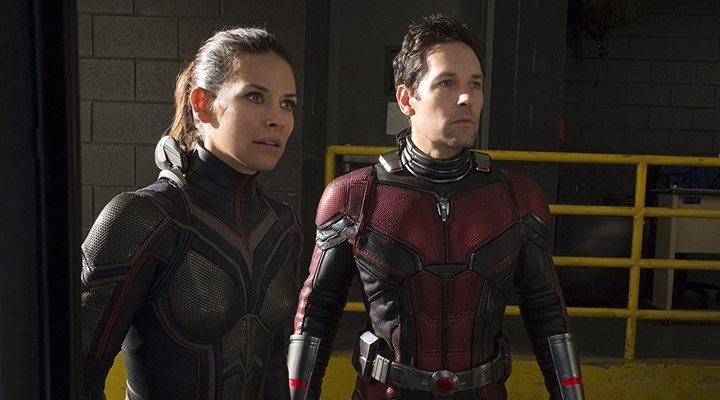 'Evangeline Lilly y Paul Rudd en Ant-Man y la Avispa'