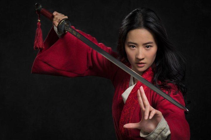 Disney publica la primera foto de Liu Yifei como
