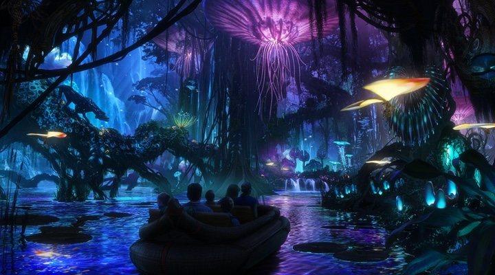 Atracción 'Pandora: El mundo de Avatar'