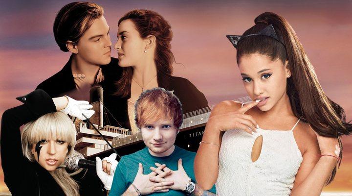 'Titanic' con Ariana Grande, Lady Gaga y Ed Sheeran