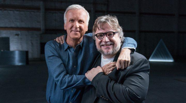 'James Cameron y Guillermo del Toro'