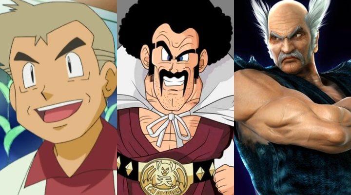 Tres de los personajes más míticos a los que dobló Unshô Ishizuka