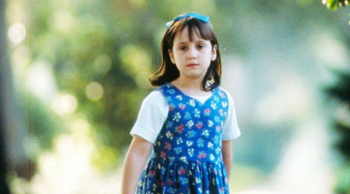 Mara Wilson en 'Matilda'