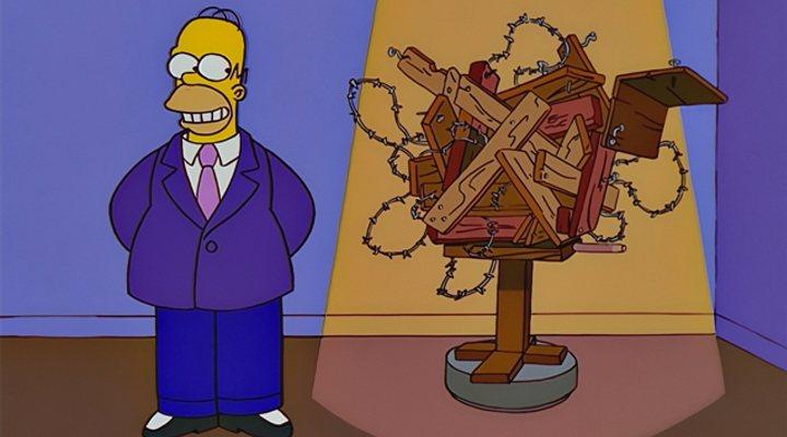 'Los Simpson' ya predijeron la escultura de Homer