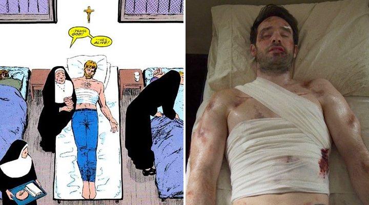 'Daredevil: Born Again y el final de The Defenders'