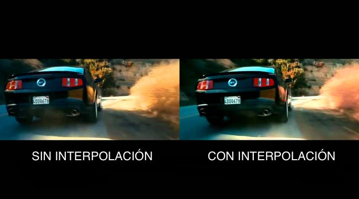 'Interpolación de fotogramas'