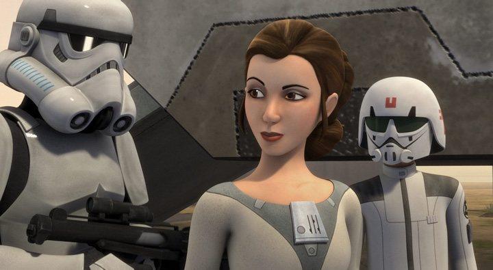 La Princesa Leia en 'Star Wars Rebels'
