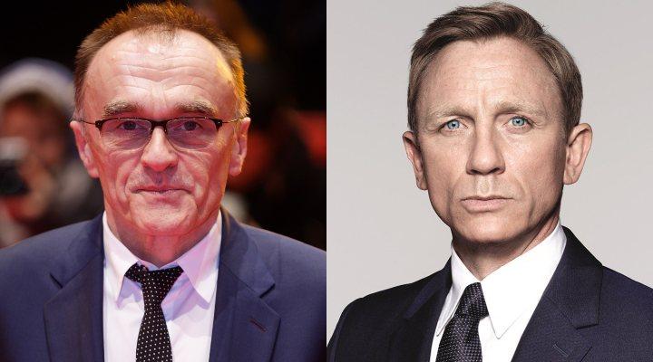 Danny Boyle y Daniel Craig