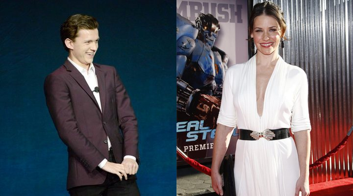 Tom Holland y Evangeline Lilly