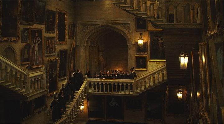 Las míticas escaleras de Hogwarts