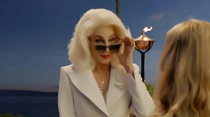 Cher en 'Mamma Mia: Una y otra vez'