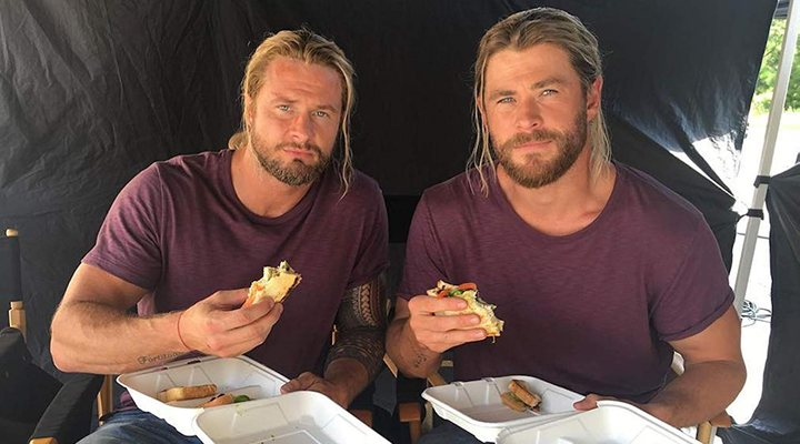'Chris Hemsworth y Bobby Hanton'
