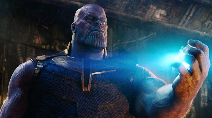 'Thanos en Vengadores: Infinity War'