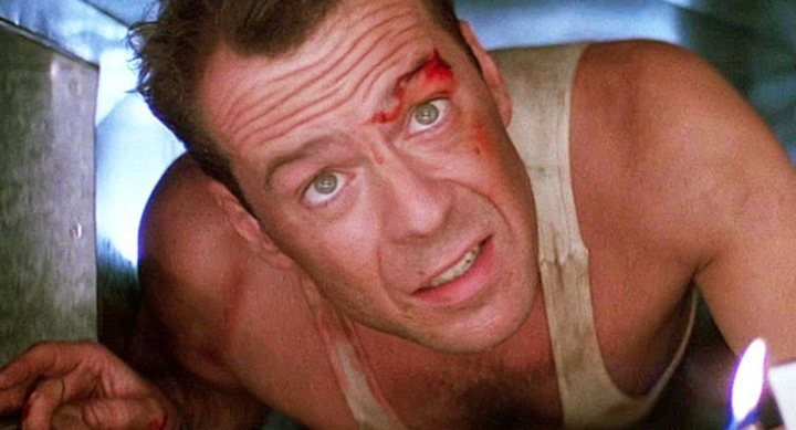 Bruce Willis en 'Duro de matar'