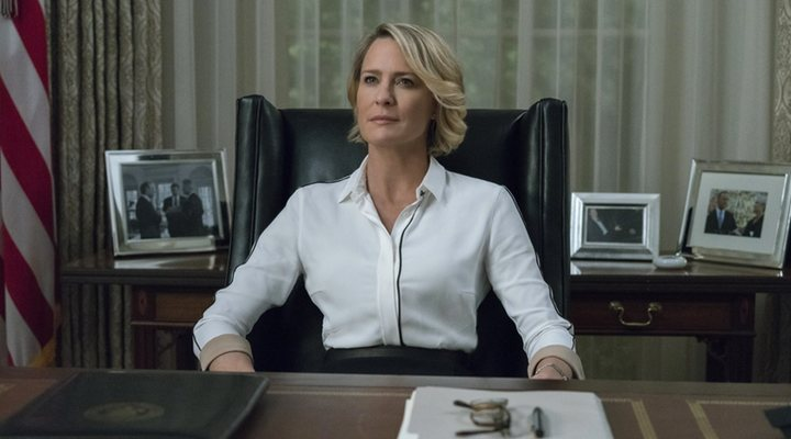 Robin Wright en 'House of Cards'