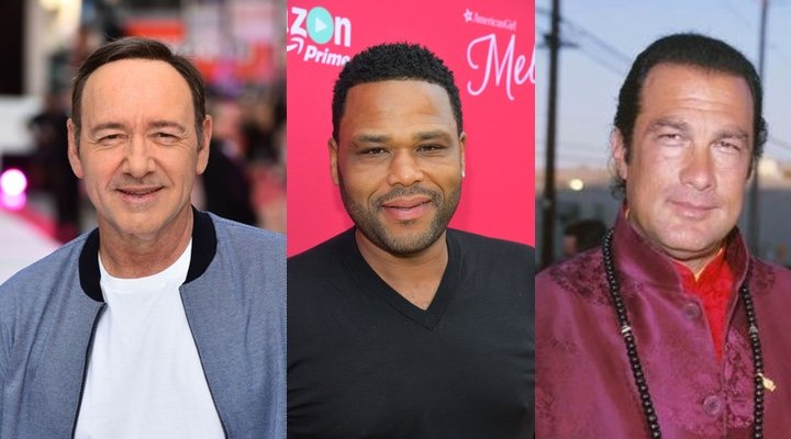 Kevin Spacey, Anthony Anderson y Steven Seagal