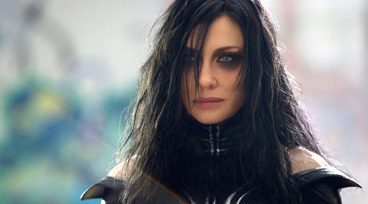 Cate Blanchett como Hela en 'Thor: Ragnarok'