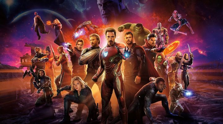 Protagonistas de 'Vengadores: Infinity War'