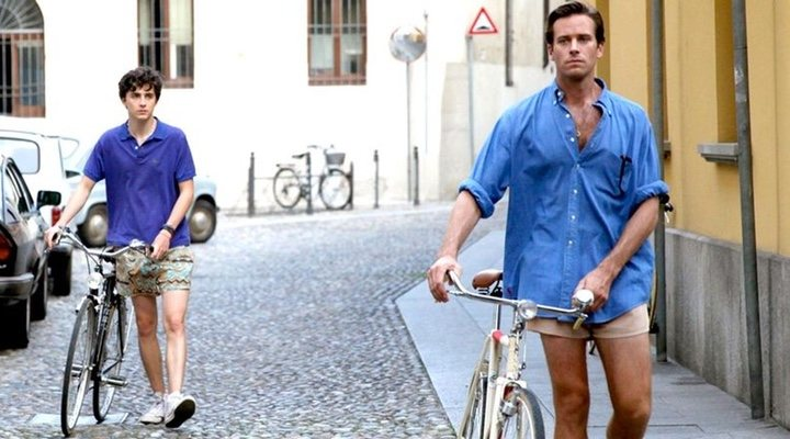 Armie Hammer y Timothée Chalamet en 'Call Me By Your Name'
