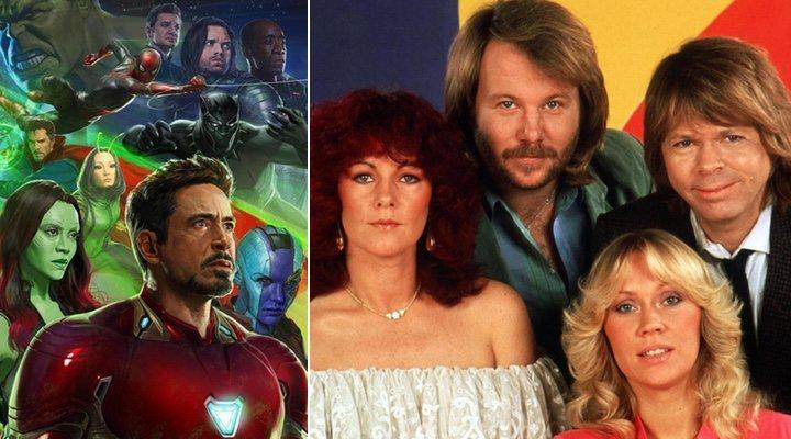 'Vengadores: Infinity War' y Abba