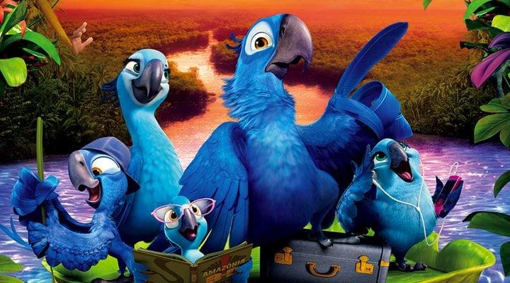 Blu y su familia en 'Rio'