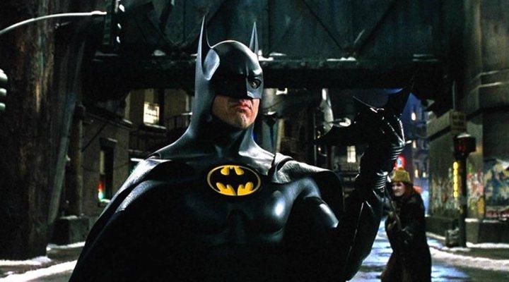 Michael Keaton como Batman en 'Batman Vuelve'