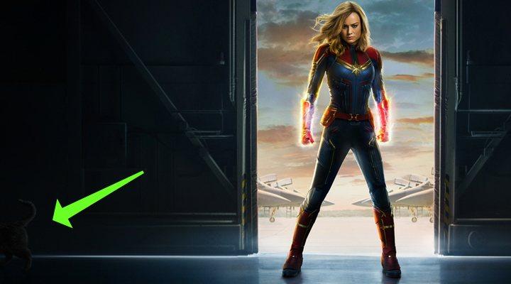 Chewie en el póster de 'Capitana Marvel'