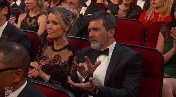 Antonio Banderas en la gala de los Emmy 2018