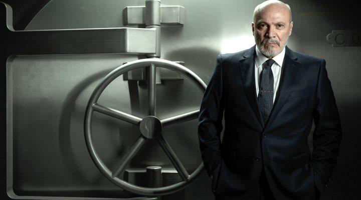 Juan Fernández en 'La casa de papel'