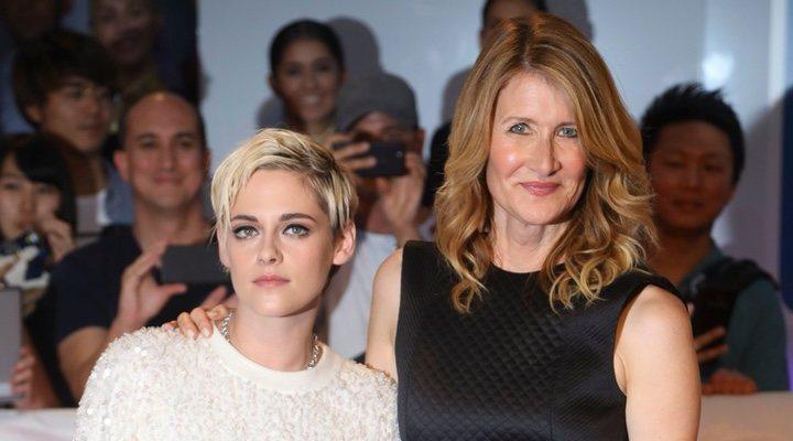 Kristen Stewart y Laura Dern