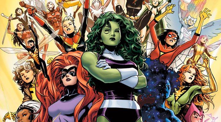 Superheroínas de Marvel