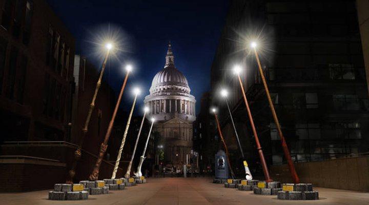 Exposición de varitas en Londres de 'Animales fantásticos: Los crímenes de Grindelwald'