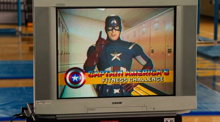 Capitán America en 'Spider-man: Homecoming'