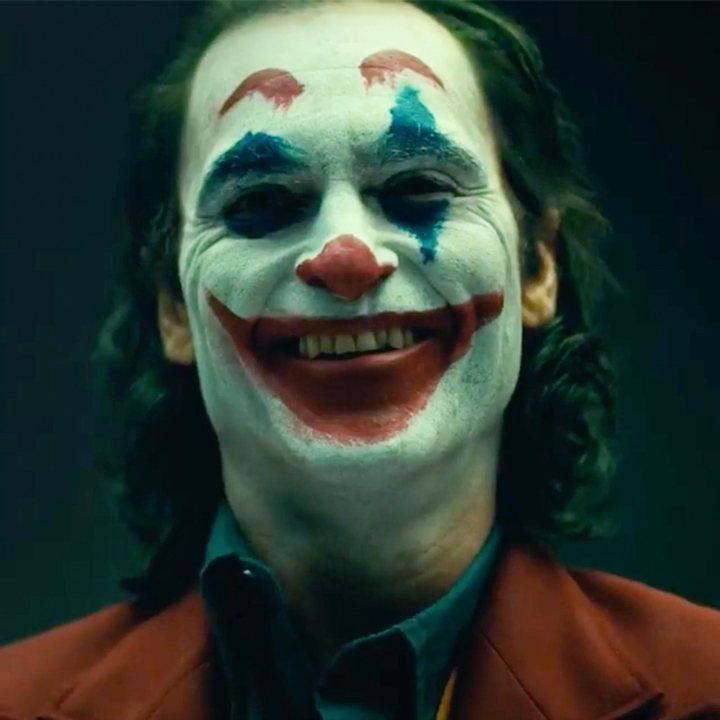 Joaquin Phoenix caracterizado como el Joker