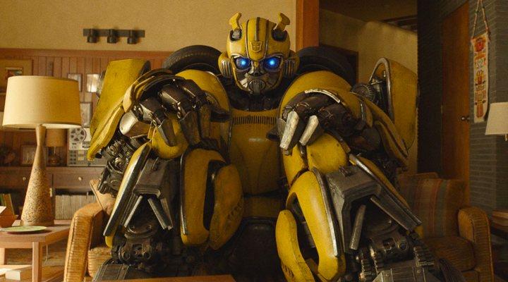 Bumblebee en la película 'Bumblebee'