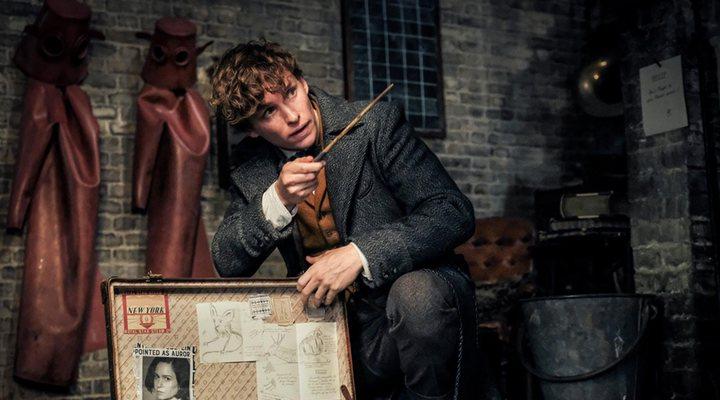 Eddie Redmayne como Newt Scamander en 'Animales fantásticos: Los crímenes de Grindelwald'