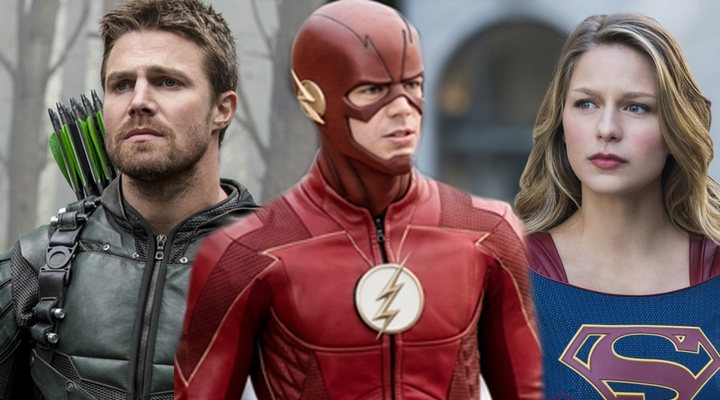 'Arrow', 'The Flash', 'Supergirl'
