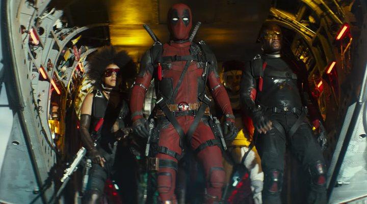 Deadpool y la X-Force en 'Deadpool 2'