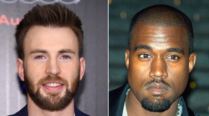 Chris Evans y Kanye West