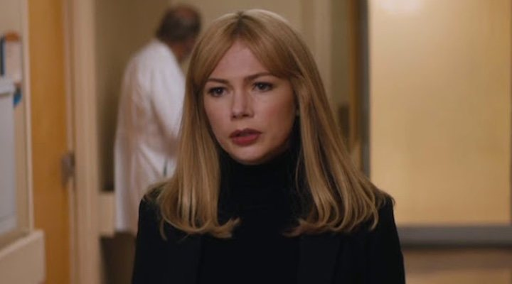 Michelle Williams en un fotograma de 'Venom'