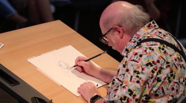 Eric Goldberg dibuja a Mickey