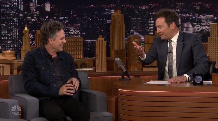 Mark Ruffalo y Jimmy Fallon