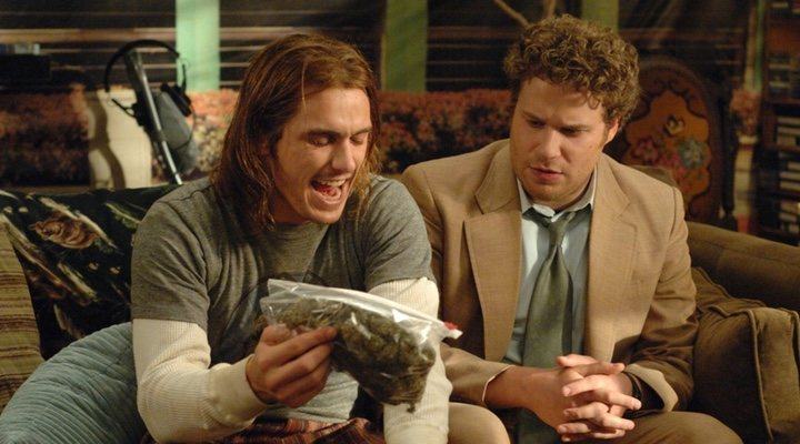 James Franco y Seth Rogen en 'Superfumados'