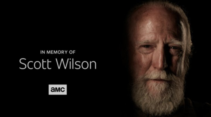 Homenaje a Scott Wilson en 'The Walking Dead'