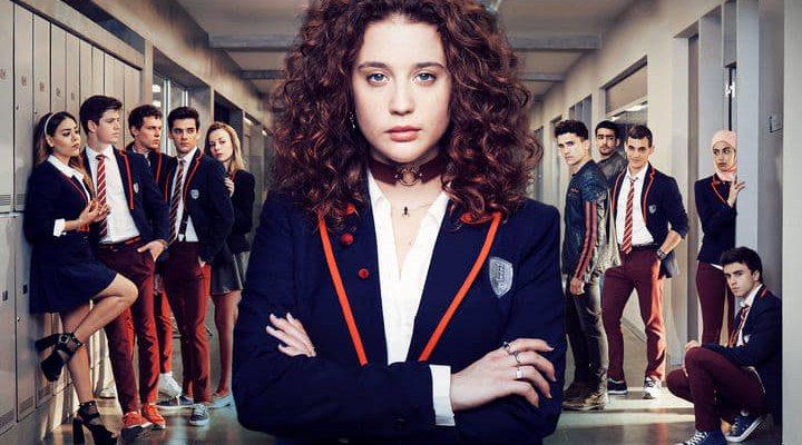 Imagen promocional de 'Élite' con el reparto de la serie