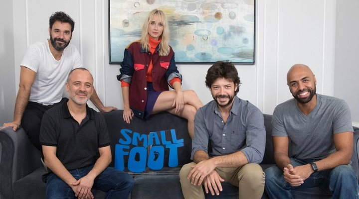 Reparto de 'Smallfoot'