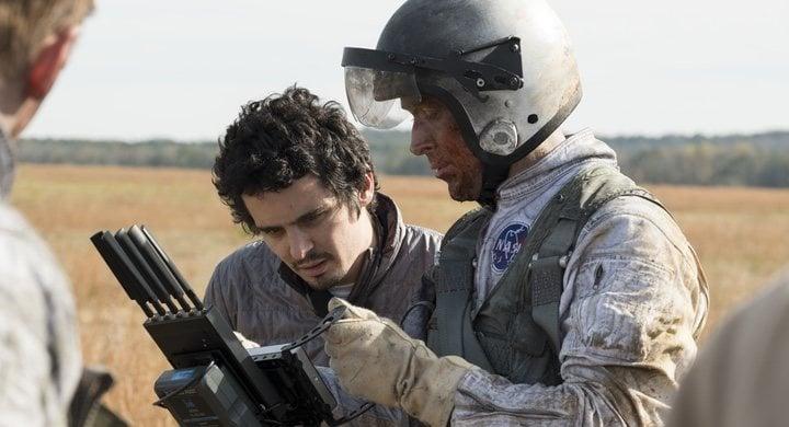 Damien Chazelle y Ryan Gosling en 'First Man - El primer hombre'