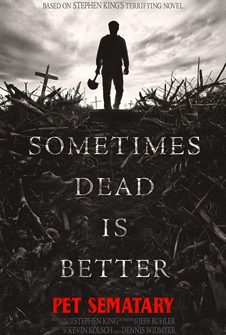 Nuevo poster de 'Cementerio de animales'