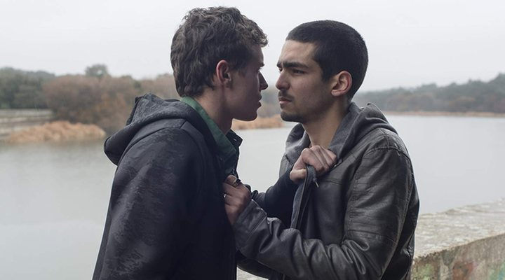 Omar y Ander en 'Élite'